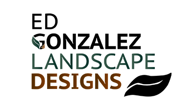 Ed Gonzalez Landscaping & Design Footer Logo Colo